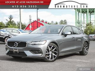 Used 2019 Volvo S60 T6 Momentum AWD | REVERSE CAM | SUNROOF | BLUETOOTH | HEATED LEATHER for sale in Stittsville, ON