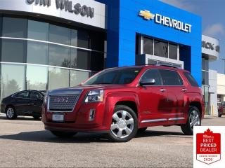 Used 2015 GMC Terrain Denali AWD DENALI V6 LEATHER SUNROOF NAVIGATION LOW KMS for sale in Orillia, ON