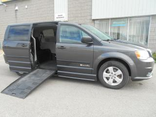 Used 2015 Dodge Grand Caravan SE-Wheelchair Accessible Side Entry CV-Manual for sale in London, ON
