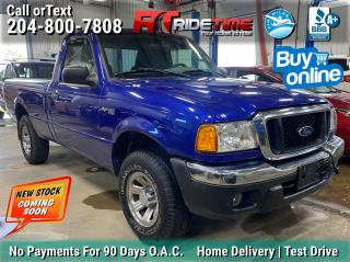 Used 2005 Ford Ranger XLT for sale in Winnipeg, MB