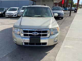 Used 2010 Ford Escape Limited for sale in London, ON