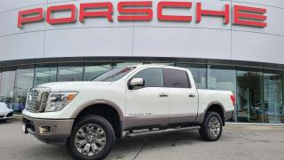 Used 2018 Nissan Titan Crew Cab Platinum 4x4 for sale in Langley City, BC