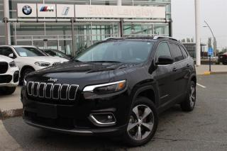 Used 2019 Jeep Cherokee 4X4 LIMITED for sale in Langley, BC
