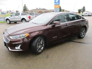 Used 2019 Ford Fusion Hybrid Titanium for sale in Wetaskiwin, AB