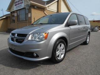 Used 2016 Dodge Grand Caravan Crew 3.6L Loaded StowNGo Navigation DVD ONLY 65Km for sale in Rexdale, ON