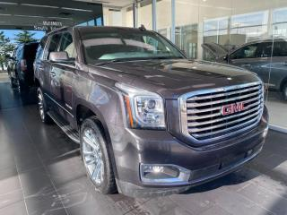 Used 2017 GMC Yukon SLT 4WD, ACCIDENT FREE, ONE OWNER, DVD SYSTEM, POWER HEATED/VENTED SEATS AND STEERING WHEEL, NAVI for sale in Edmonton, AB