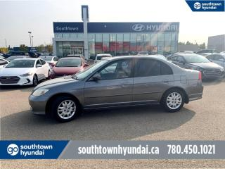Used 2004 Honda Civic Sdn LX/EXCELLENT CONDITION/AC for sale in Edmonton, AB
