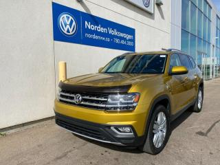 Used 2018 Volkswagen Atlas EXECLINE W/ BENCH - VW CERTIFIED for sale in Edmonton, AB