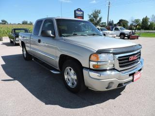 Used 2006 GMC Sierra 1500 SLE V8 No rust 189000 km 2 wheel drive for sale in Gorrie, ON