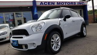 Used 2014 MINI Cooper Countryman S- AWD- DUAL ROOF, NAVIGATION, LIKE NEW for sale in Hamilton, ON
