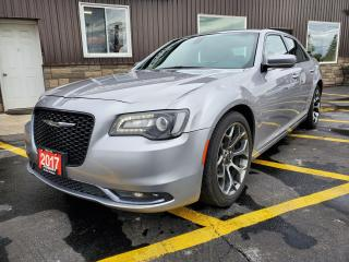 Used 2017 Chrysler 300 300S-NAVIGATION-SUNROOF-REMOTE START-HEATED LEATHE for sale in Tilbury, ON