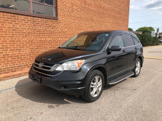 2011 Honda CR-V 4WD / EX-L w/Navi, Letaher,/NO ACCIDENTS  Sunroof