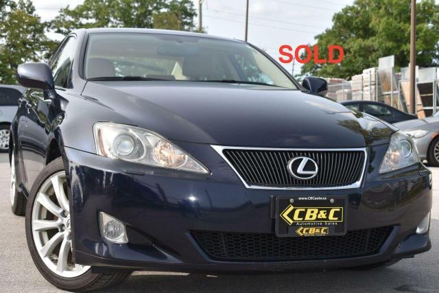 2007 Lexus IS 250 SOLD