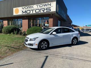 Used 2015 Chevrolet Cruze 1LT RS/1 OWNER/RCAM/Bluetooth for sale in North York, ON