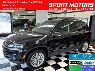 Used 2016 Volkswagen Tiguan Special Edition 4 Motion+New Brakes+ACCIDENT FREE for sale in London, ON