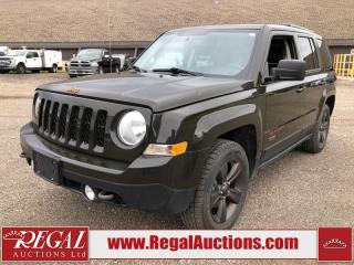 Used 2017 Jeep Patriot 75TH ANNIVERSARY 4D UTILITY 4WD 2.4L for sale in Calgary, AB