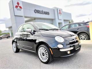 Used 2017 Fiat 500 Lounge for sale in Orléans, ON