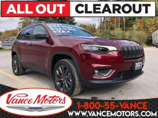 New 2021 Jeep Cherokee 80th Anniversary 4X4...NAV*TOW*HTD SEATS! for sale in Bancroft, ON