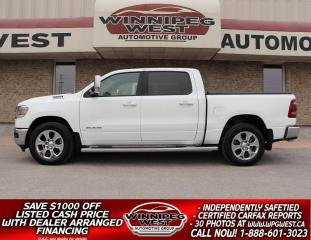 Used 2019 RAM 1500 HEMI, HTD SEAT, PAN ROOF, NAV, BLIND SPOT & MORE! for sale in Headingley, MB