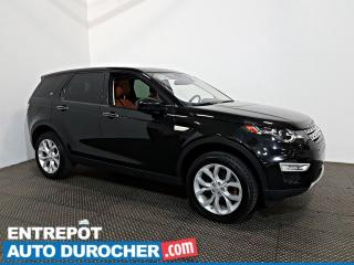 Used 2017 Land Rover Discovery Sport HSE LUXURY AWD NAVIGATION - Toit Vitré - A/C -Cuir for sale in Laval, QC