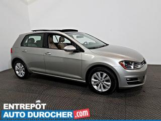 Used 2017 Volkswagen Golf HIGHLINE TOIT OUVRANT - A/C - Cuir for sale in Laval, QC