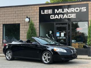 Used 2007 Pontiac G6 GT HARDTOP CONVERTIBLE for sale in Paris, ON