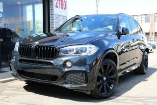 Used 2016 BMW X5 xDrive 35i, M-sport, Navi, HUD, PanoRoof, 360Cam, Prem Sound for sale in North York, ON