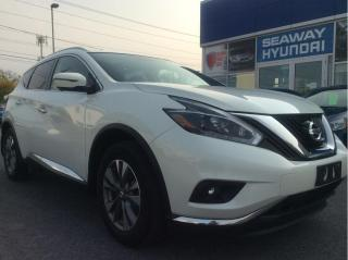 Used 2018 Nissan Murano AWD SL - Local Trade - Navigation - Leather for sale in Cornwall, ON