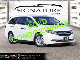Used 2017 Honda Odyssey 4dr Wgn SE. NO ACCIDENT. ONE OWNER. 7 PASSENGER. for sale in Mississauga, ON