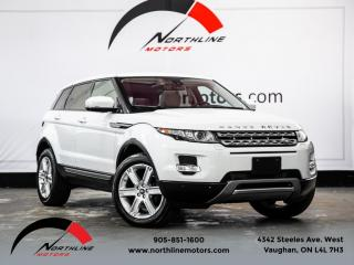 Used 2013 Land Rover Evoque Pure Premium|Navigation|Pano Roof|Camera|Heated Leather for sale in Vaughan, ON