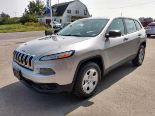 Used 2014 Jeep Cherokee SPORT 4WD for sale in Dunnville, ON