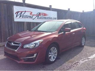 Used 2016 Subaru Impreza 2.0i w/Touring Pkg for sale in Stittsville, ON