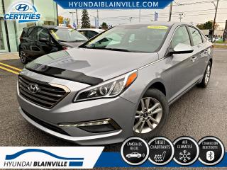 Used 2015 Hyundai Sonata GL BLUETOOTH, BANCS CHAUFFANTS, A/C+ for sale in Blainville, QC