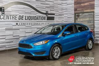 Used 2015 Ford Focus SE+CAMERA DE RECUL+MAGS+GR ELECTRIQUE+AIR CLIM for sale in Laval, QC