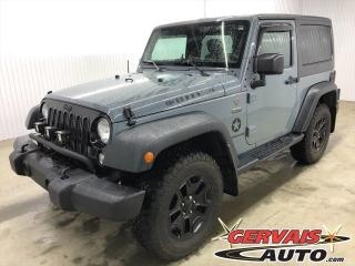Used 2015 Jeep Wrangler WILLYS AUTOMATIQUE A/C for sale in Shawinigan, QC