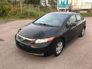Used 2012 Honda Civic 4 portes, boîte manuelle, DX for sale in Québec, QC