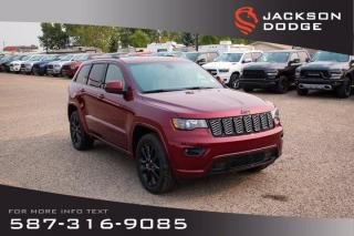 New 2020 Jeep Grand Cherokee Altitude | Sunroof | Navigation | Remote Start for sale in Medicine Hat, AB