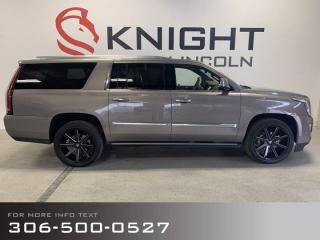 Used 2018 Cadillac Escalade ESV Platinum, Leathers, Sunroof, Captains, Extended Wheel Base! for sale in Moose Jaw, SK