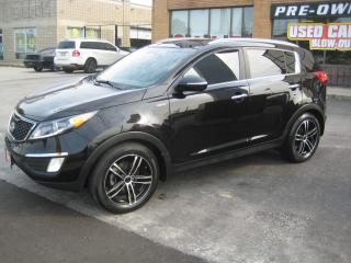 Used 2012 Kia Sportage AWD T-GDI  SX w-Nav Double Sunroof Service Records for sale in North York, ON