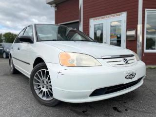 Used 2001 Honda Civic 4dr Sdn DX Auto for sale in Drummondville, QC