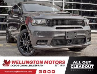 New 2020 Dodge Durango GT for sale in Guelph, ON