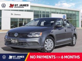 New 2016 Volkswagen Jetta Trendline+, One Owner, Bluetooth, Heated Seats for sale in Winnipeg, MB