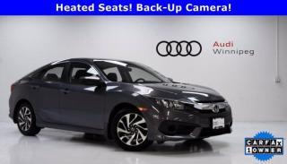 Used 2017 Honda Civic Sedan EX w/Sunroof *Low KM - Local Trade* for sale in Winnipeg, MB