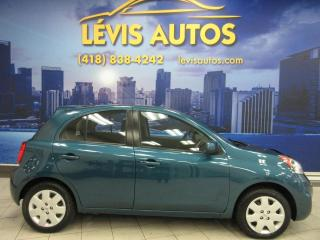 Used 2015 Nissan Micra SV AUTOMATIQUE 113000 KM AIR CLIMATISE B for sale in Lévis, QC
