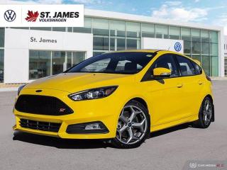 Used 2018 Ford Focus ST, Winter and Summer tires. Clean Carfax for sale in Winnipeg, MB