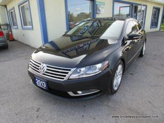 Used 2013 Volkswagen Passat CC 6-SPEED MANUAL SPORT-EDITION 5 PASSENGER 2.0L - TURBO.. LEATHER.. HEATED SEATS.. POWER SUNROOF.. BACK-UP CAMERA.. BLUETOOTH SYSTEM.. for sale in Bradford, ON