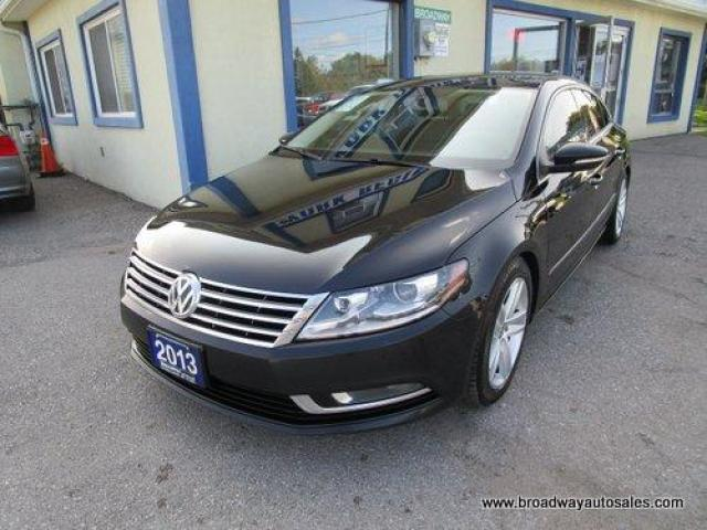 2013 Volkswagen Passat CC 6-SPEED MANUAL SPORT-EDITION 5 PASSENGER 2.0L - TURBO.. LEATHER.. HEATED SEATS.. POWER SUNROOF.. BACK-UP CAMERA.. BLUETOOTH SYSTEM..