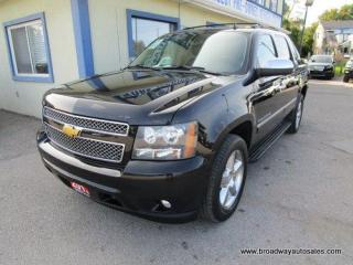 Used 2013 Chevrolet Avalanche LOADED BLACK-DIAMOND EDITION 5 PASSENGER 5.3L - V8.. 4X4.. CREW.. SHORTY.. NAVIGATION.. LEATHER.. HEATED/AC SEATS.. BACK-UP CAMERA.. POWER SUNROOF.. for sale in Bradford, ON