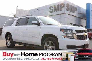 Used 2019 Chevrolet Suburban LT- Leather, DVD, Sunroof, Navigation for sale in Saskatoon, SK