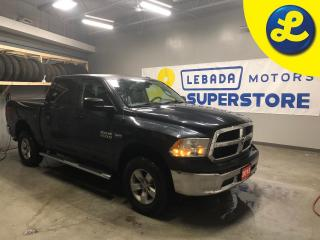 Used 2015 RAM 1500 SXT CREW CAB 4X4 * 5.7L HEMI VVT V8 engine with FuelSaver MDS * 6 Passenger * Line X sprayed bed liner * Chrome side steps * Chrome front and rear bum for sale in Cambridge, ON